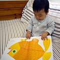 (8m)寶寶愛看書-這本書也太大本了!