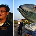 (9M)南寮海風吹-好大的魚