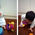 (9m)寶寶開心玩新玩具