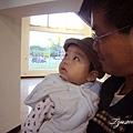 (9M)南寮海風吹-寶寶又被電梯吸引住