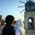 (9M)南寮海風吹-父子一起看大風車