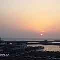 (9M)南寮海風吹-南寮的落日