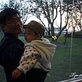 (9M)南寮海風吹-父子倆看日落2-轉頭破功
