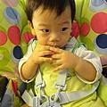 (11M)寶寶剪頭髮-頭髮剪完後2-很帥喔