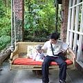 (11M)6號花園-這裡有張大搖椅
