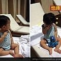 (14M)宜蘭晶英-寶寶玩水篇-海灘椅上想睡了