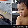 (14M)宜蘭晶英-寶寶玩水篇-玩小石頭2