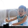 (14M)宜蘭渡假-寶寶很愛喜歡飯店浴缸