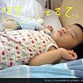 (14M)最後終於睡著了
