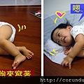 (14M)寶寶賴著媽媽剛躺過著枕頭