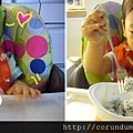 (15M)自己叉水果吃二連拍