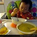 (15M)自己叉白蘿蔔吃
