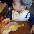 (15M)寶寶豬排店吃飯-以前只能吃碎粥
