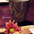 (17M)餐廳-桌景-水杯
