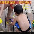 (23m)墾丁.夏都-沙灘玩水-最後整理和清洗玩具