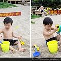 (23m)墾丁.夏都-沙灘玩水-偶爾也會玩沙子