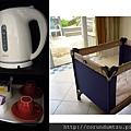 (23m)墾丁.夏都-備品-茶具與嬰兒床