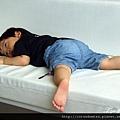 (23m)墾丁.夏都-寶寶in沙發-想睡了