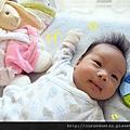 (1M)妹妹與可愛小兔-小手揮揮揮