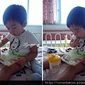 (2Y2M)9/01D3-床上吃麵包四連拍-1