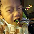 (2Y3M)青菜撥雲見日-寶寶開心吃青菜01