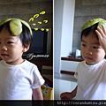 (2Y3M)寶寶戴柚子帽