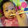 (5M)妹副食品-1114第一次吃米精
