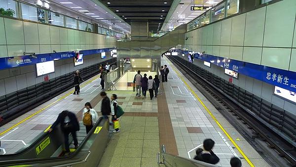 忠孝新生站