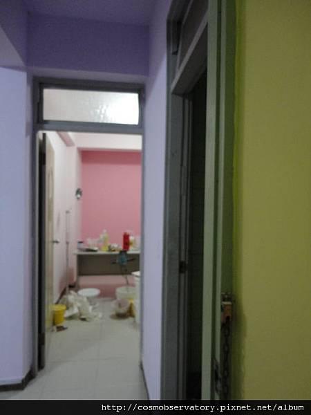 主臥房對面的治療室