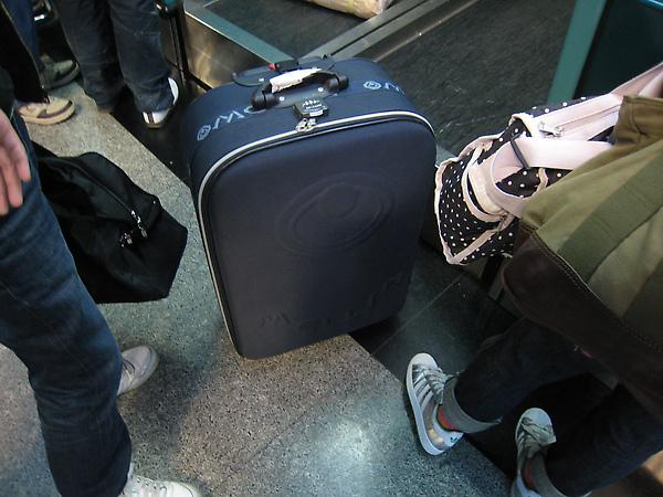 這次的行李