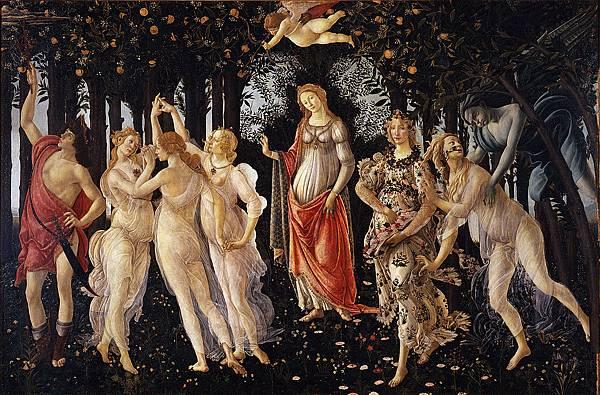波提切利的名作《春》