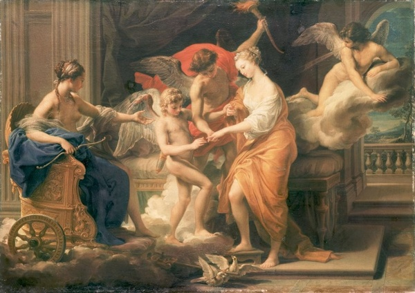 The Marriage of Cupid and Psyche, By Pompeo Girolamo Batoni, 1706-1787, (1756).png