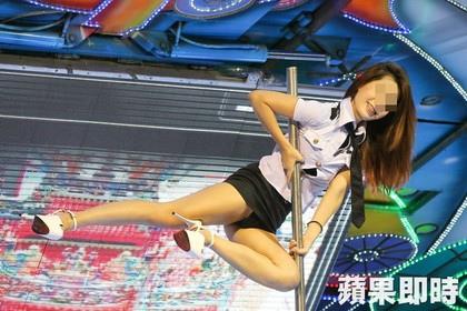 鋼管女郎為虎尾的中元普渡掀起高潮.jpg