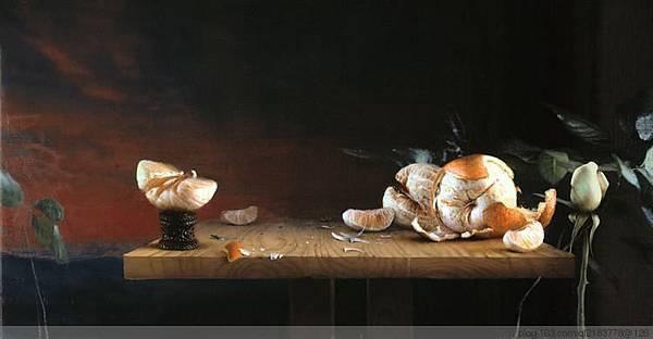 美國藝術家Daniel.Sprick靜物油畫