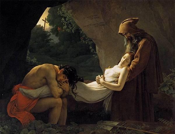 Atala au tombeau, dit aussi Funérailles d