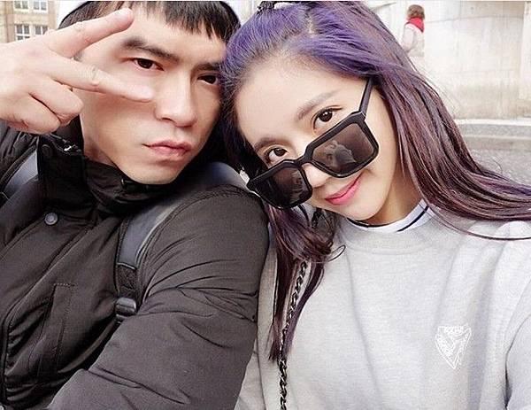 陳艾琳(右)與老公阿翔(左)曾面臨離婚危機