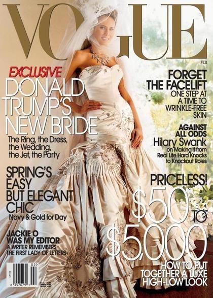 瑪蓮妮亞2005年結婚登上《VOGUE》封面,婚紗由Dior當時的設計師John Galliano操刀,價值約333萬元台幣.jpg