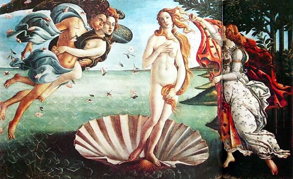 波提且利-維納斯的誕生1485