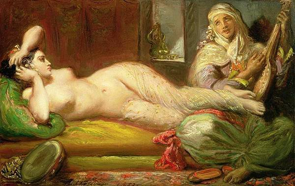 1853-Reclining-Odalisque-Theodore-Chasseriau.