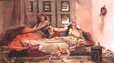 Eugène Giraud, Harem Egyptien 1847-1928