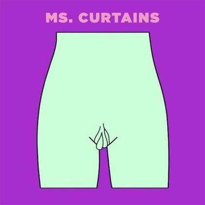 Ms. Curtains小陰唇過長,沒辦法讓大陰唇完整包住