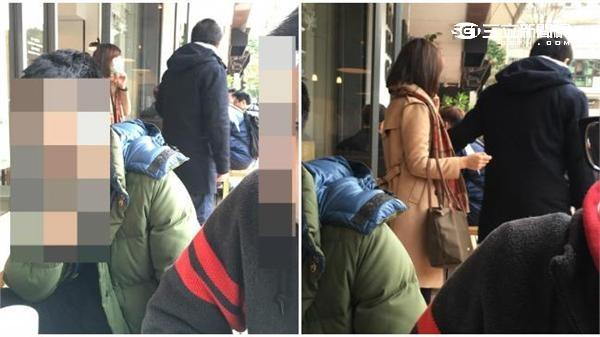林鶴明上月與一名疑似莊惠琪的女子到咖啡店