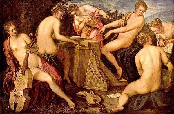 Tintoretto (Venetian, 1518-1594) - The Women