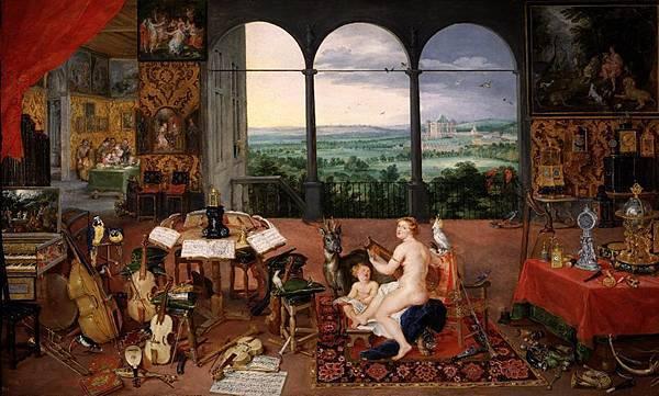 El Oído - Pedro Pablo Rubens y Jan Brueghel - el Viejo (1617-1618)