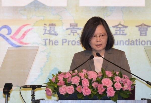 蔡英文總統8日出席「凱達格蘭論壇2017亞太安全對話」,致詞時指出台灣將致力維護亞太安全 - 複製