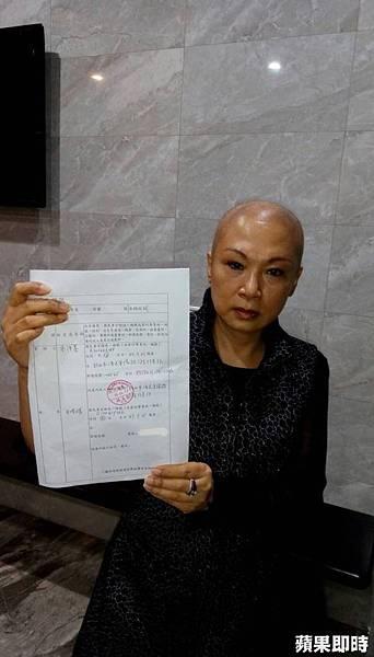 朱妻曾控訴,丈夫拋下罹癌的她離家。李沛蓁提供