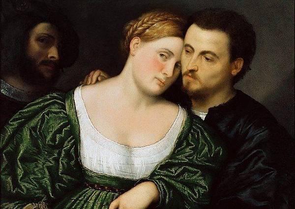 Paris Bordone:Venetian Lovers - 複製
