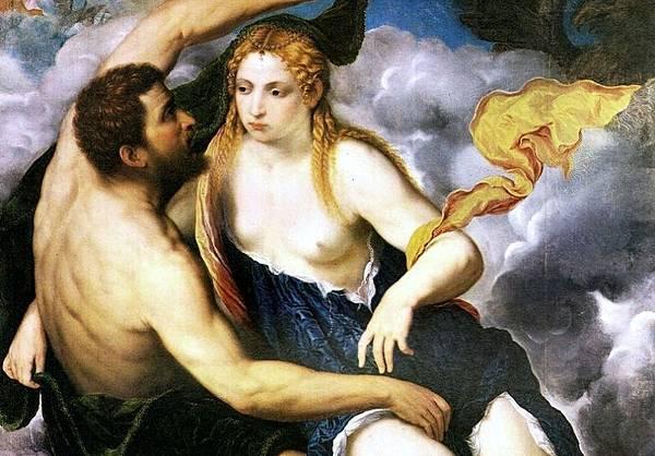 Paris_Bordone_Jupiter and Io(局部)