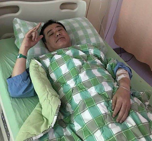 安迪5月曾因喉嚨長期疼痛入院治療