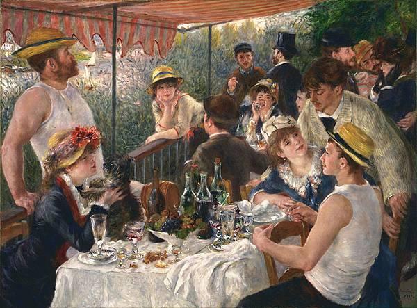 船上的午宴﹝Luncheon of the Boating Party﹞-1881ax-